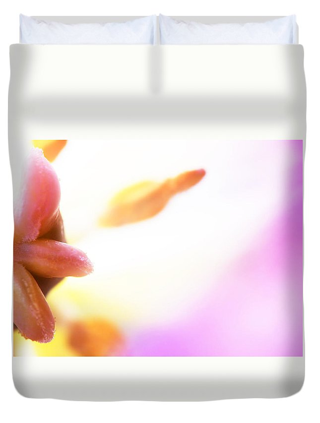 Flower Duvet Cover featuring the photograph Fleur Iv by Tina Baxter