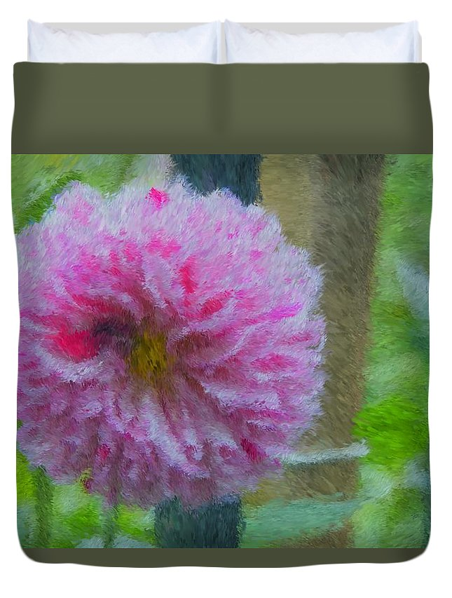 Flower Duvet Cover featuring the photograph Flower Power by Alice Gipson