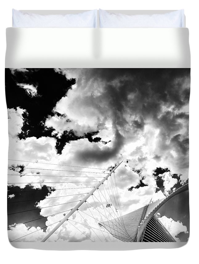 Www.cjschmit.com Duvet Cover featuring the photograph Fly Free by CJ Schmit