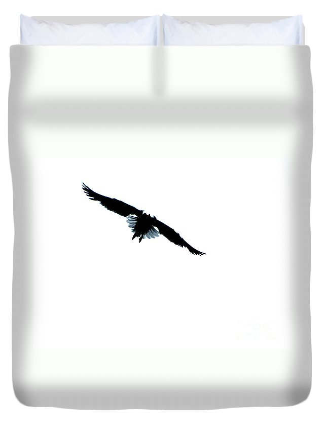 Ron Tackett Duvet Cover featuring the photograph Fly by Ron Tackett