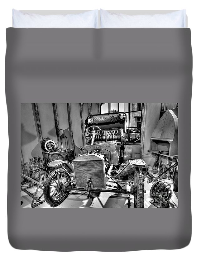 Ford Duvet Cover featuring the photograph Ford Parts by Paul W Faust - Impressions of Light