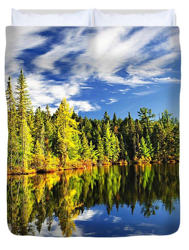 Algonquin Park Photographs Duvet Covers