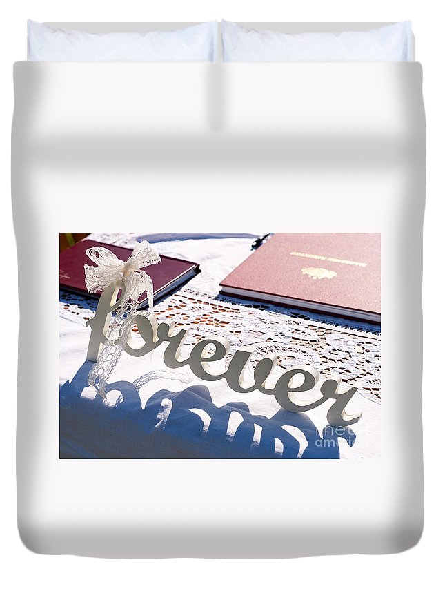 Forever Duvet Cover featuring the photograph Forever by Rick Piper Photography