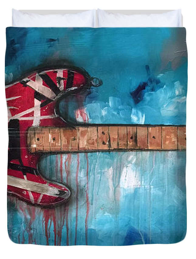 Art Eddie Van Halen Duvet Covers
