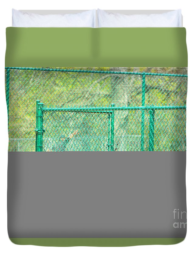 Skateboarding Duvet Cover featuring the photograph Free by Alys Caviness-Gober