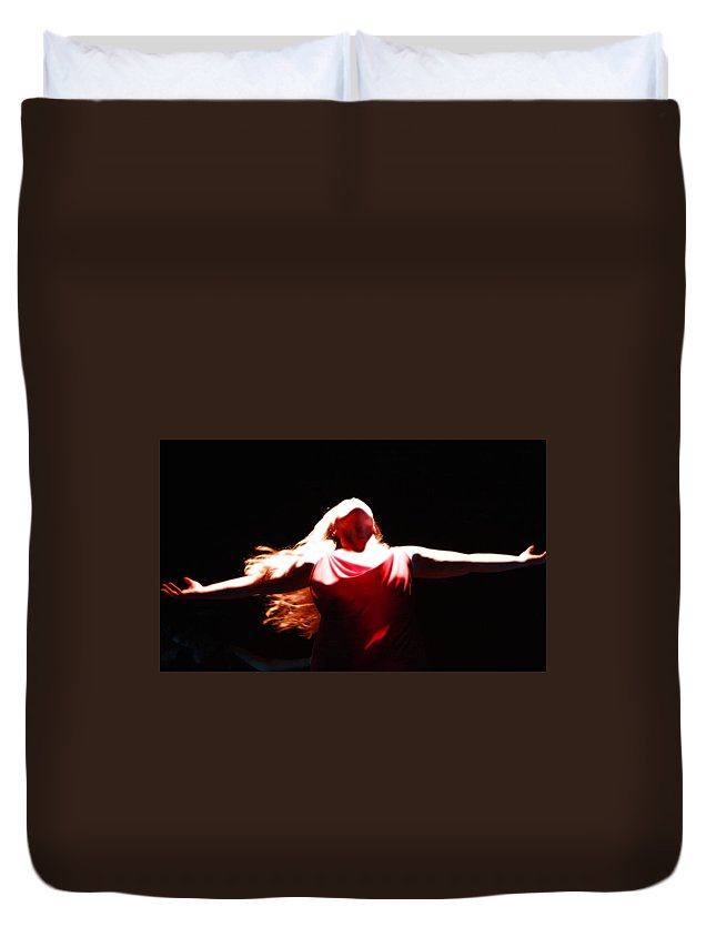 Kg Duvet Cover featuring the photograph Freedom by KG Thienemann