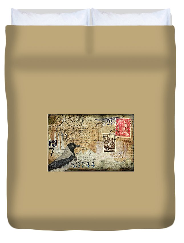 Post Cards Duvet Covers