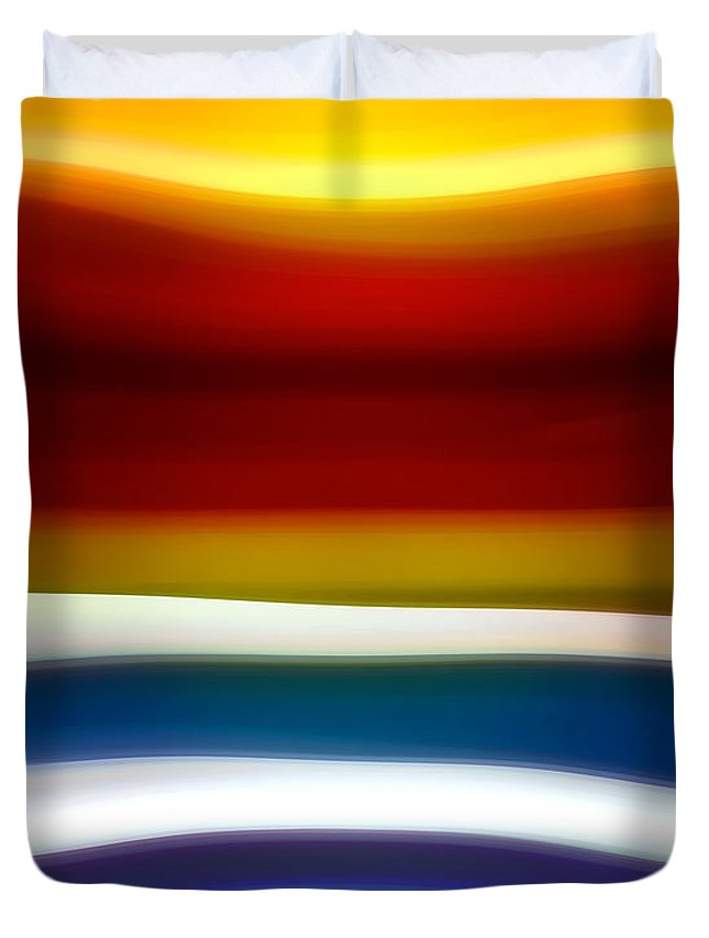Fury Duvet Cover featuring the painting Fury Sea 5 by Amy Vangsgard