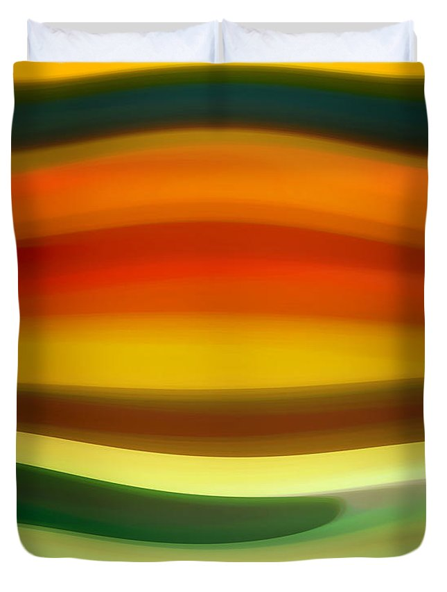 Fury Duvet Cover featuring the painting Fury Sea 6 by Amy Vangsgard