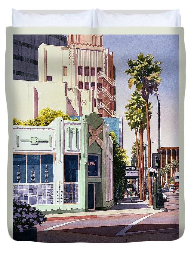 Los Angeles Duvet Covers