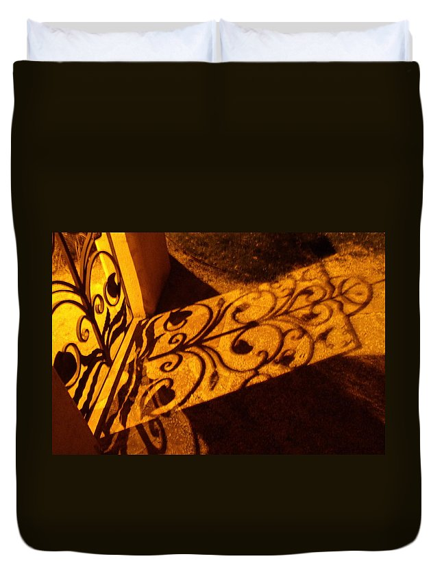 Gate Duvet Cover featuring the photograph Gate by David S Reynolds