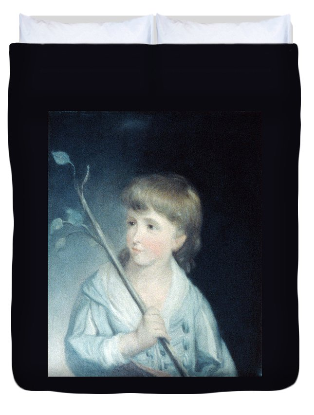 1785 Duvet Cover featuring the painting George W by Granger