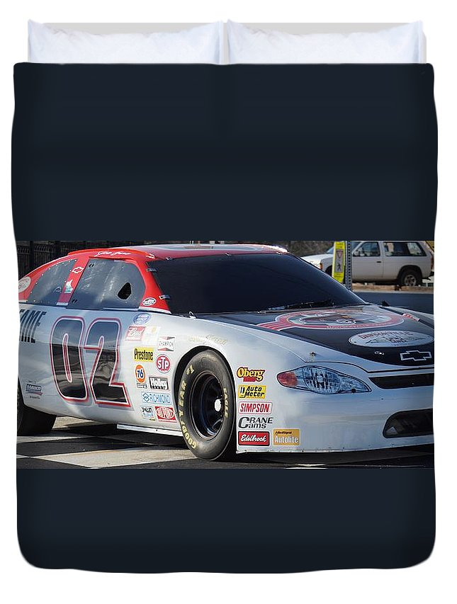 Racing Duvet Cover featuring the photograph Georgia Racing Hall Of Fame Car by John Wall