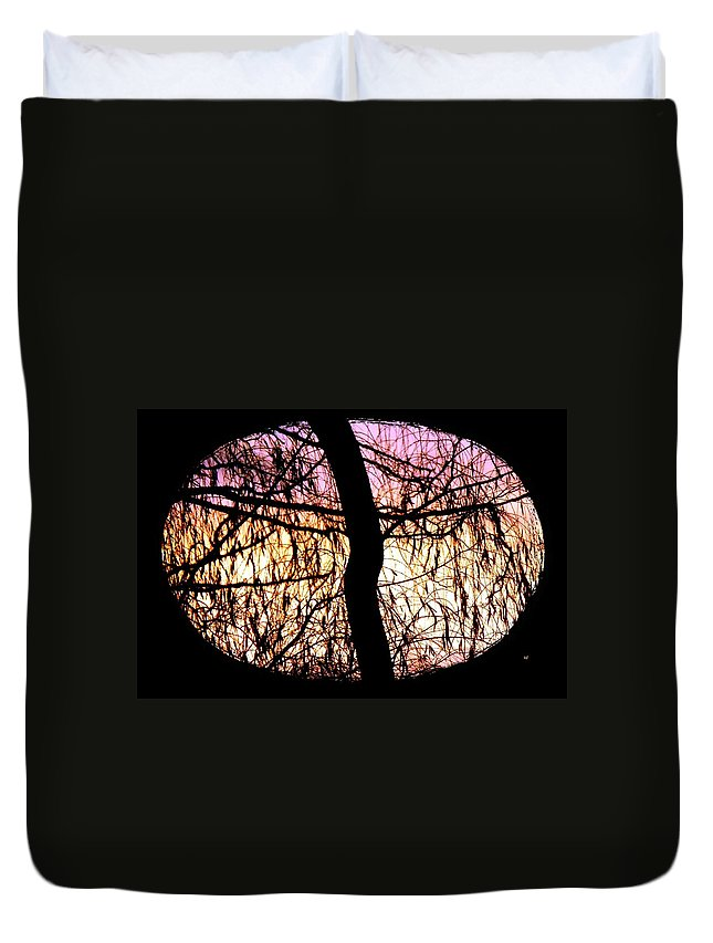Glorious Silhouettes 3 Duvet Cover featuring the photograph Glorious Silhouettes 3 by Will Borden