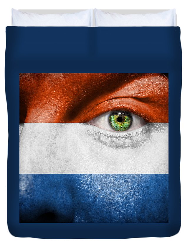 Art Duvet Cover featuring the photograph Go Holland by Semmick Photo