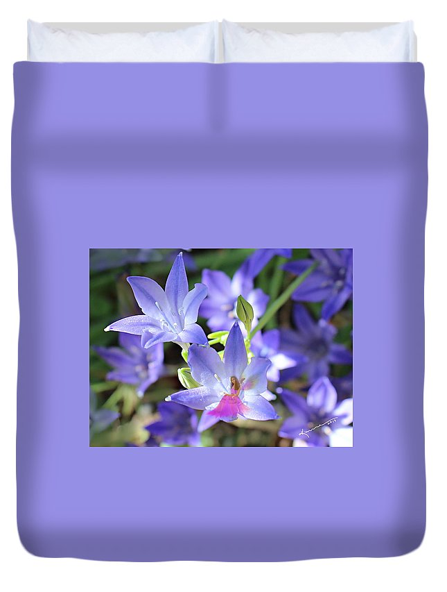Fairy Duvet Cover featuring the photograph Good Morning My Fairy by Kume Bryant