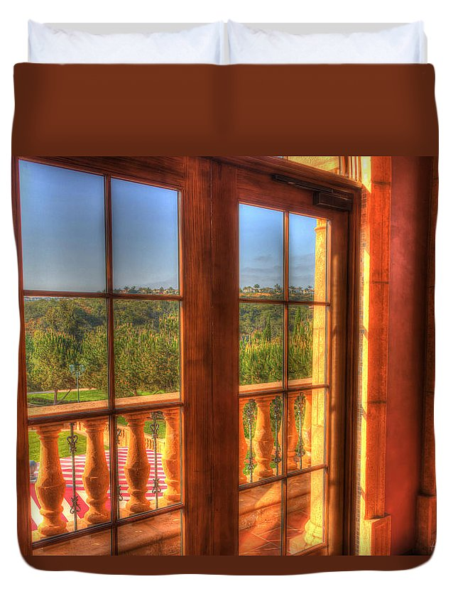 Duvet Cover featuring the photograph Good Morning Sunshine by Heidi Smith
