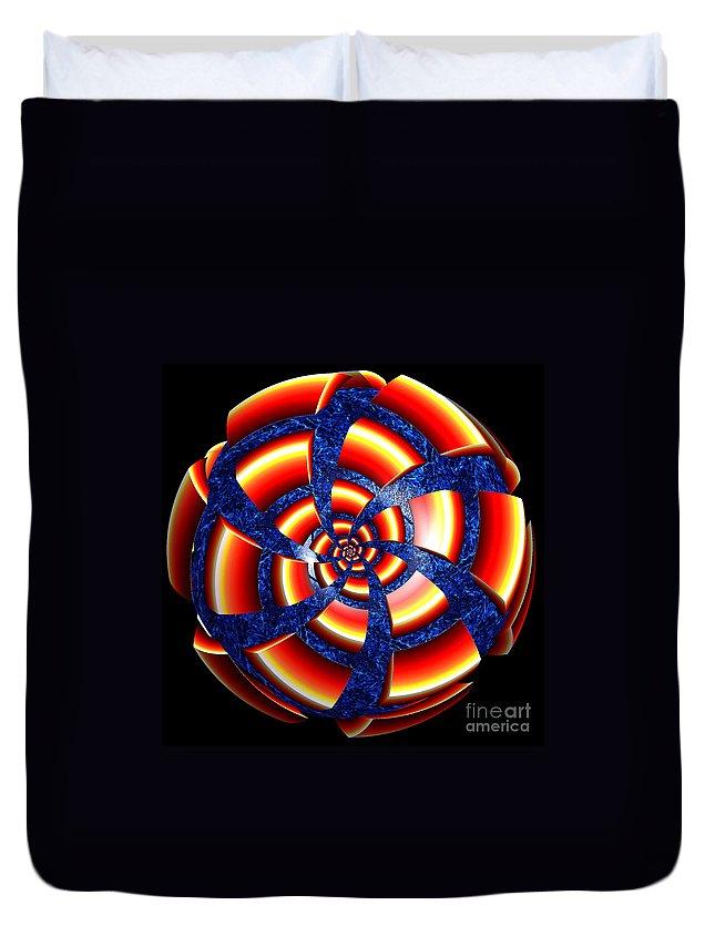 First Star Art Duvet Cover featuring the digital art Good News By Jammer by First Star Art