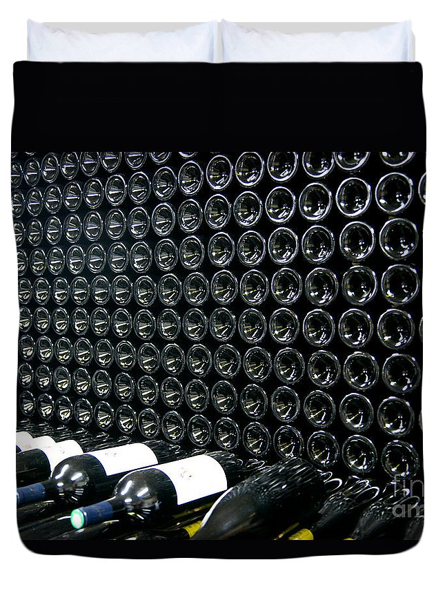 Wine Duvet Cover featuring the photograph Got Wine by Kent Nancollas