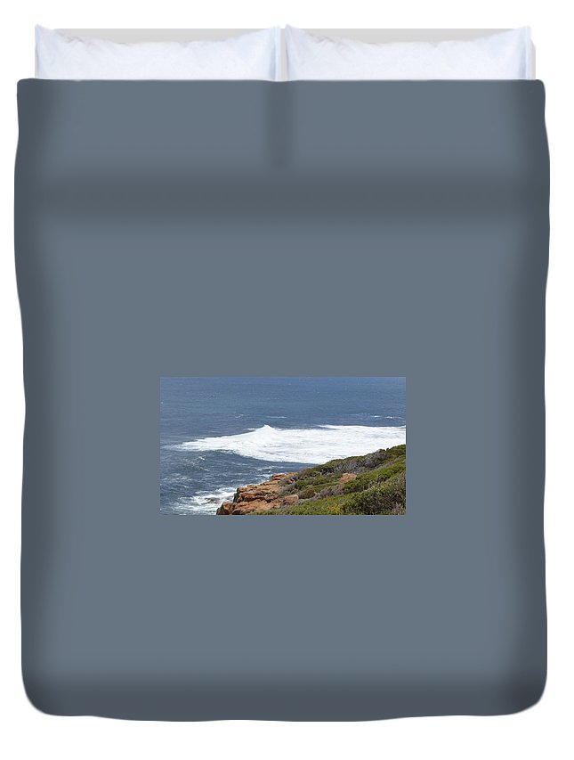 Gracetown Duvet Cover featuring the photograph Gracetown Beach 1.1 by Cheryl Miller