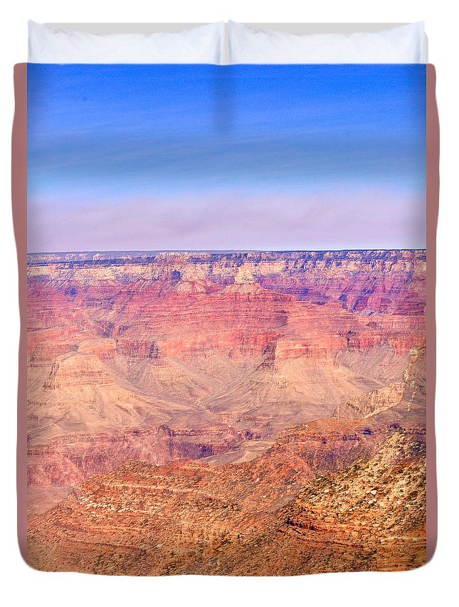 Grand Duvet Cover featuring the photograph Grand Canyon 27 by Douglas Barnett
