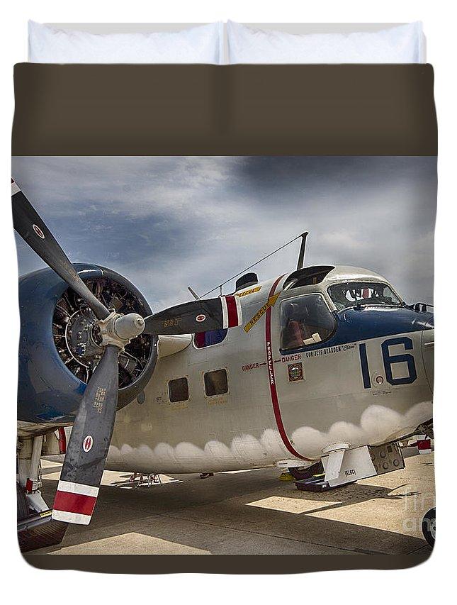 Grumman Tf C1a Trader Duvet Cover