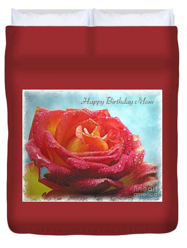 Happy Birthday Mom Yellow Roses - Feeling Like Party