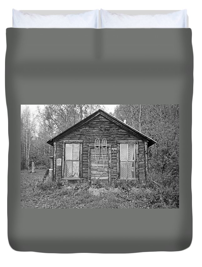 House Duvet Cover featuring the photograph Harry Went To Darts by Pekka Sammallahti