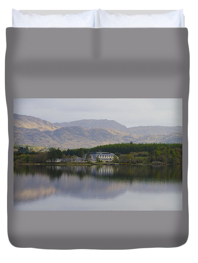 Harveys Duvet Cover featuring the photograph Harveys Point - Donegaltown Ireland by Bill Cannon