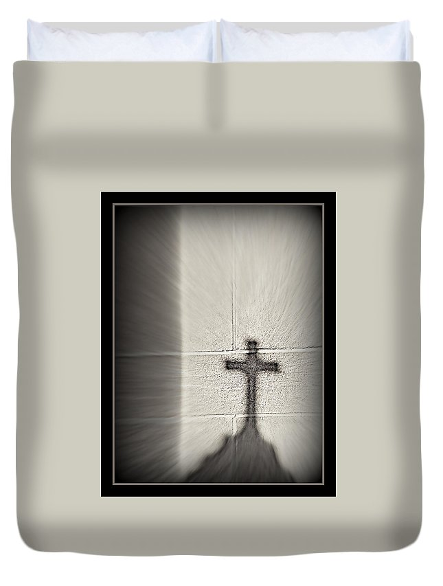 Have Faith Duvet Cover featuring the photograph Have Faith by Ernie Echols
