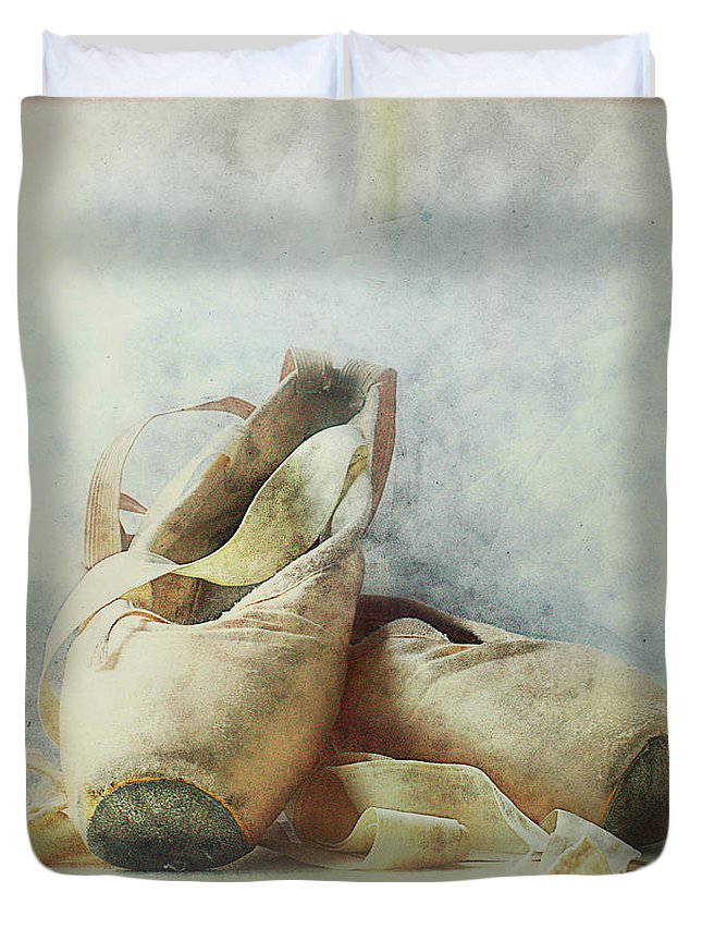 Netherlands Duvet Cover featuring the photograph Her Life, Her World....her Shoes by Bob Van Den Berg Photography