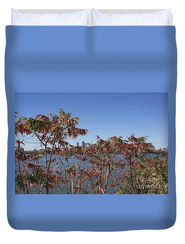Montreal Duvet Cover featuring the photograph Hiding In The Wild by Donato Iannuzzi