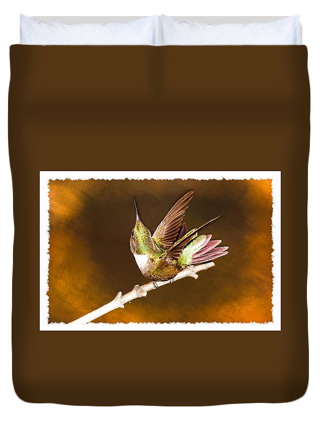 High Definition Duvet Cover featuring the photograph High Definition Hummer by Randall Branham