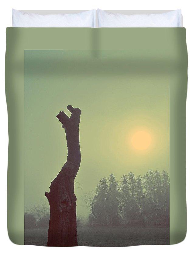 Hopeless Duvet Cover featuring the photograph Hopeless by Marianna Mills