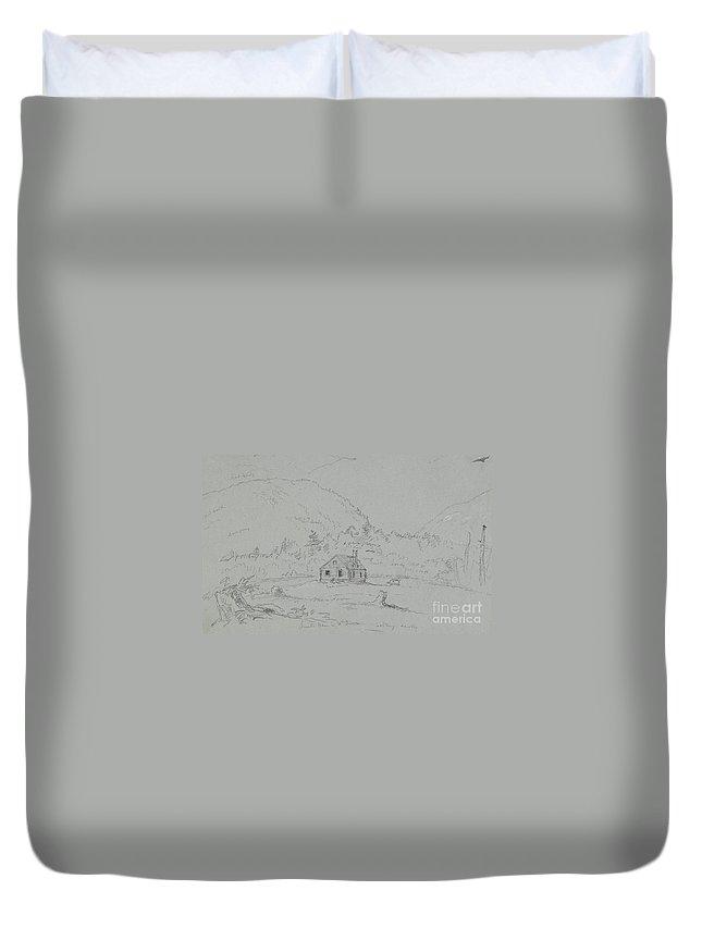 Desert Island Drawings Duvet Covers