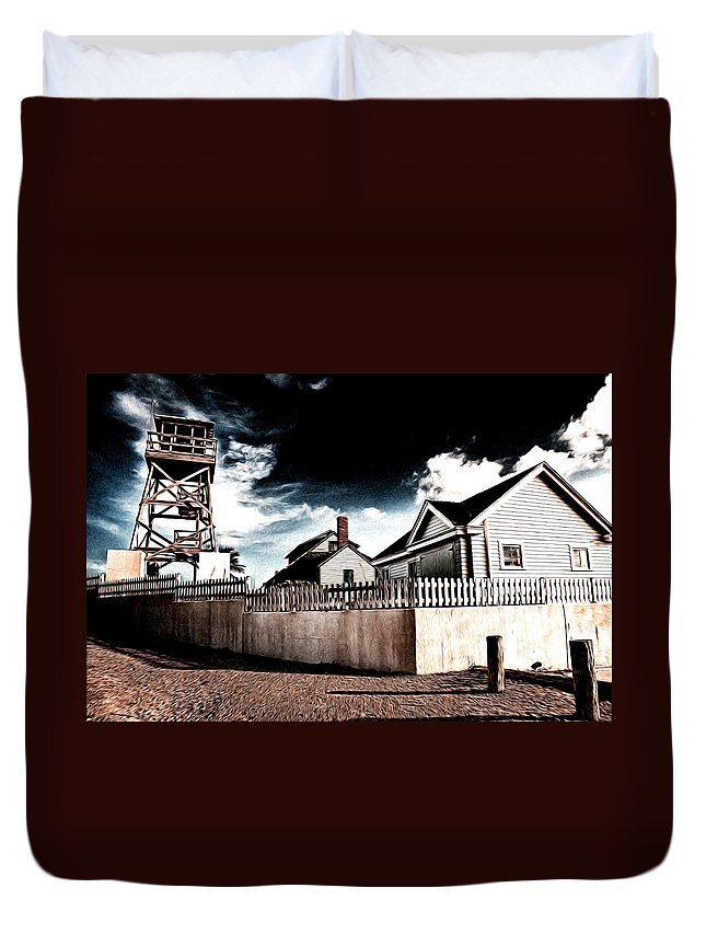 House Of Refuge Duvet Cover featuring the photograph House Of Refuge by Bill Howard