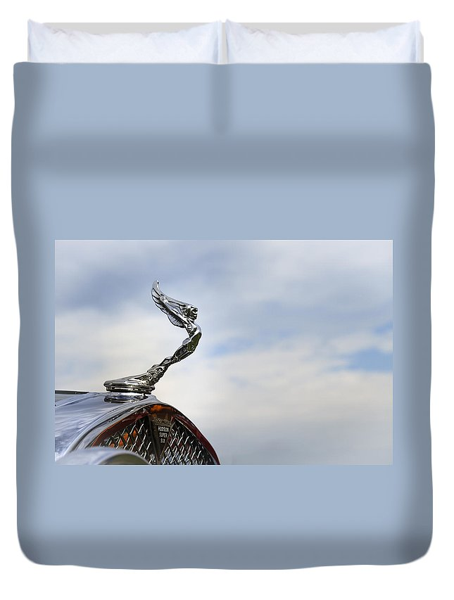 Hudson Duvet Cover featuring the photograph Hudson by Jack R Perry