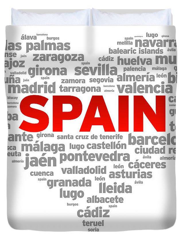 Spain Duvet Covers