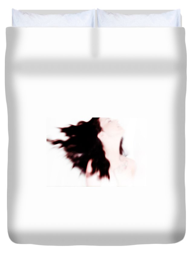 Passion Duvet Cover featuring the photograph I Wanna Try To Explain My Passion For The Life by Jenny Rainbow