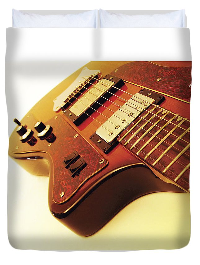 Ibanez Duvet Cover featuring the photograph Ibanez Jk 4 by Gideon Schutte