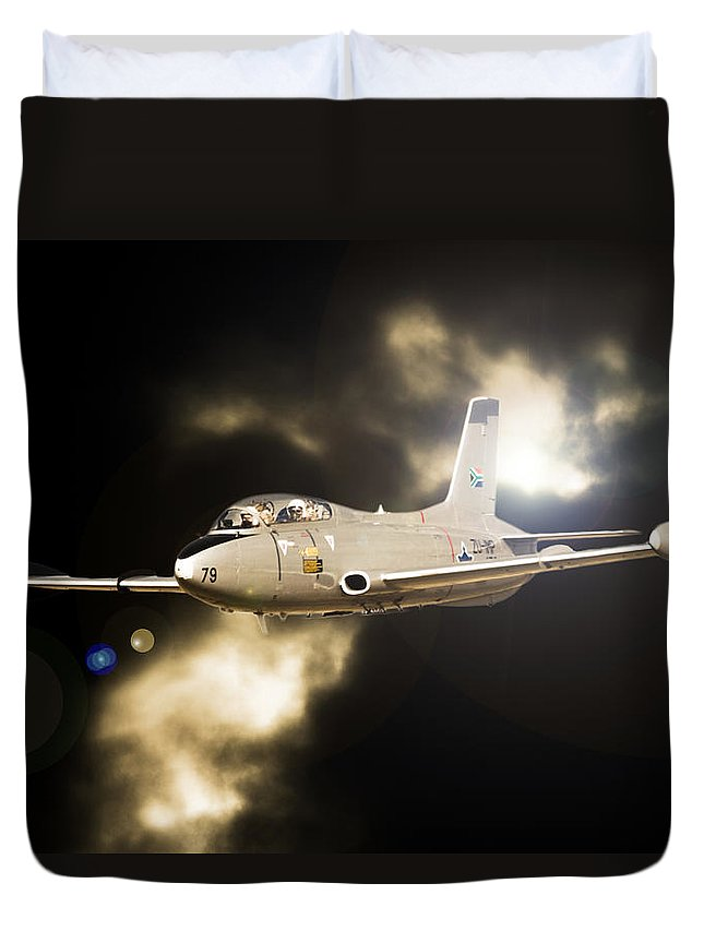 Atlas Impala Duvet Cover featuring the photograph Impala Light by Paul Job