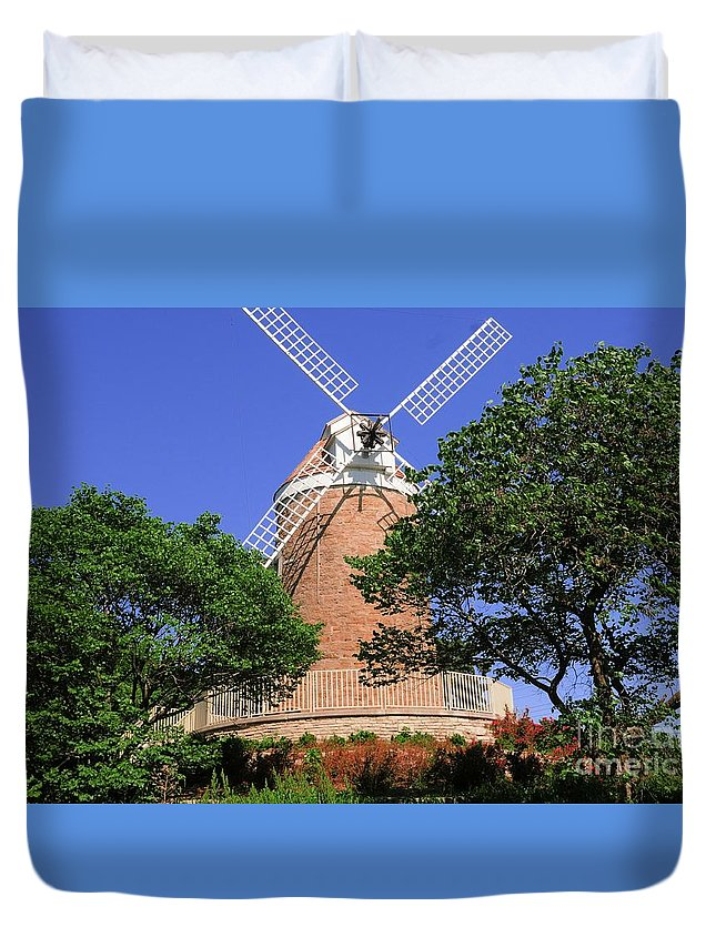 Park Duvet Cover featuring the photograph In The Park by Kathleen Struckle