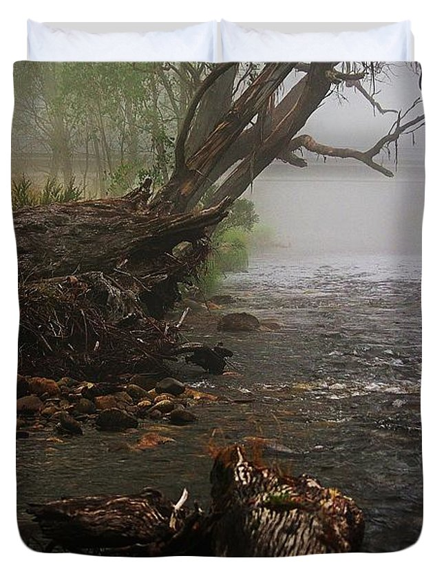 Blair Stuart Duvet Cover featuring the photograph Indeed It Was A Mystical Place by Blair Stuart