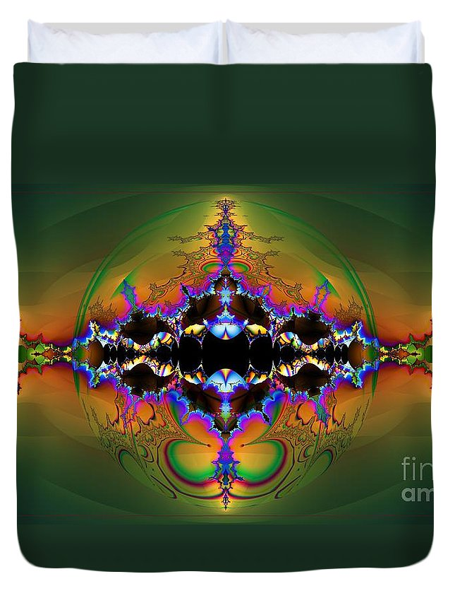 Insight Duvet Cover featuring the digital art Insight by Elizabeth McTaggart