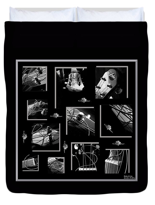 Collage Duvet Cover featuring the photograph It Has A Nice Ring To It by Barbara St Jean