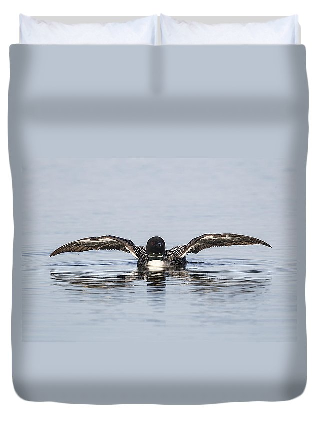 Doug Lloyd Duvet Cover featuring the photograph It Was This Big by Doug Lloyd