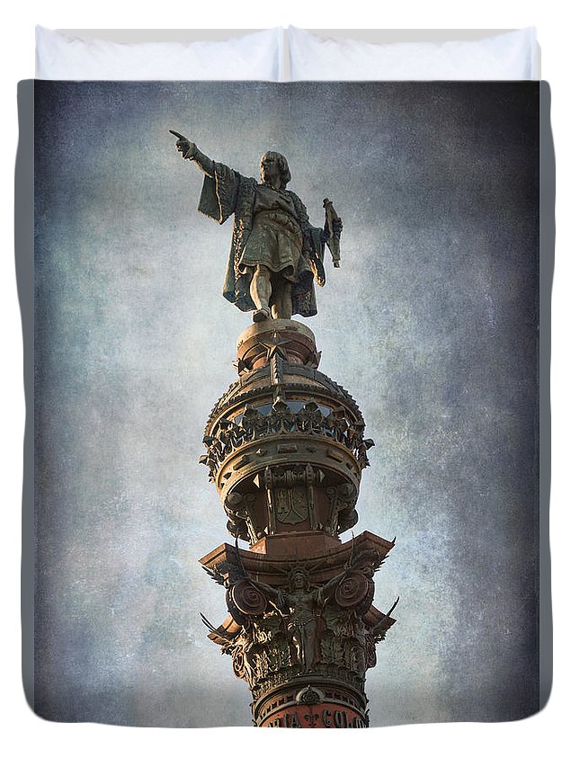 Joan Carroll Duvet Cover featuring the photograph Its That Way by Joan Carroll