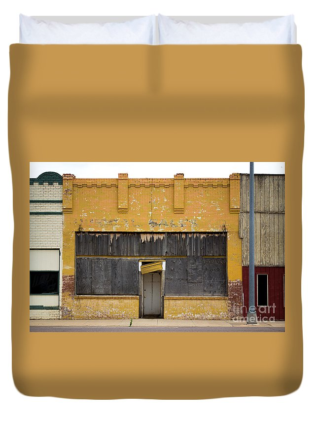 Christian Duvet Cover featuring the photograph Jesus At The Door by Derry Murphy