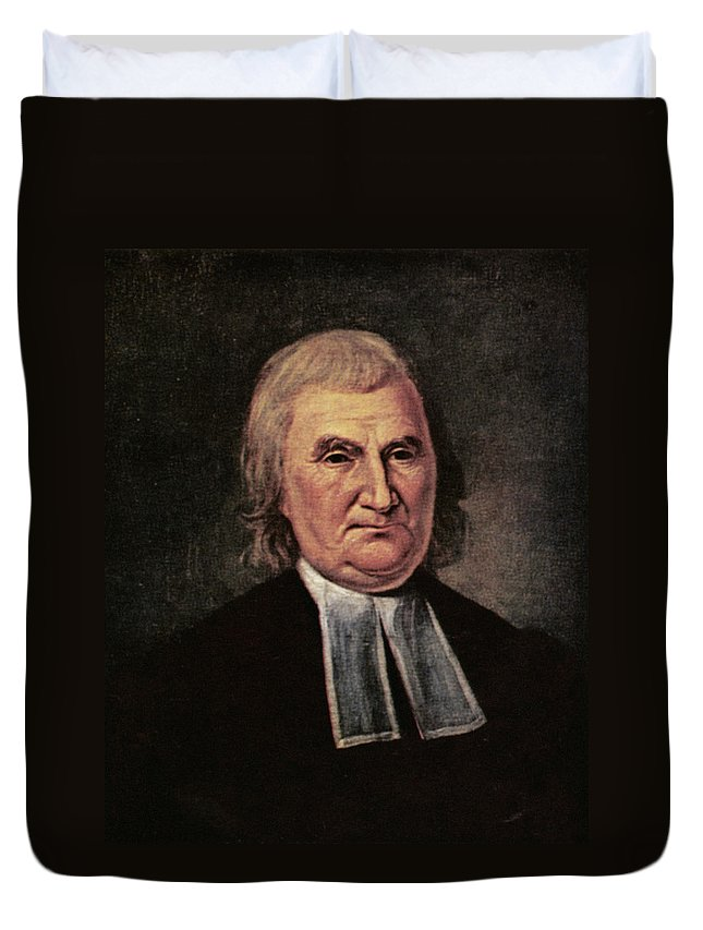 1783 Duvet Cover featuring the painting John Witherspoon (1723-1794) by Granger