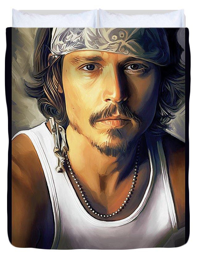 Johnny Depp Duvet Covers